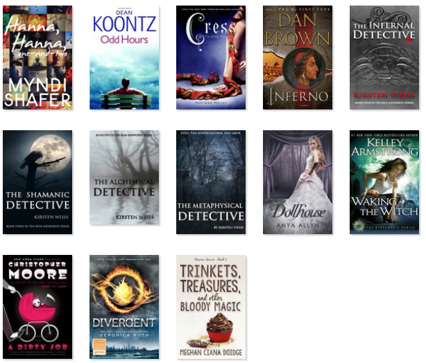 All The Books I've Read…This Year, Part 1