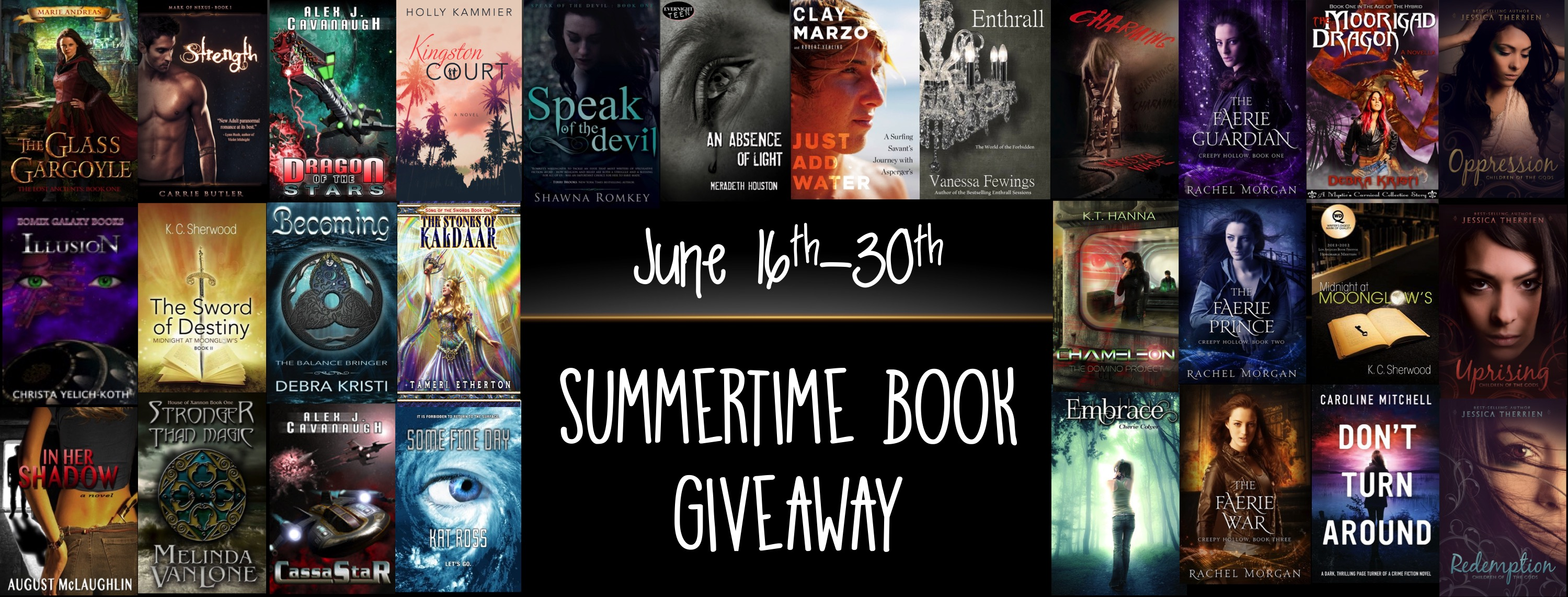 Summertime Book Giveaway!